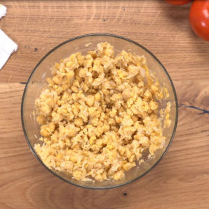 mashed chickpeas